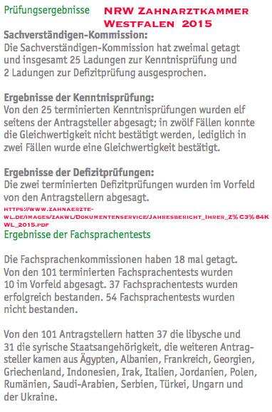Kenntnisprüfung Quote Westfalen-Lippe